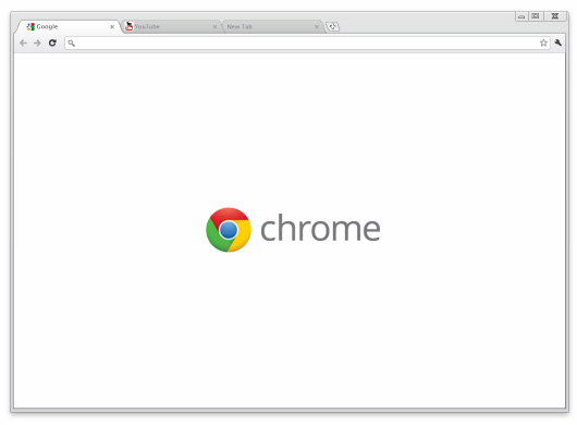 Google Chrome 18 screenshot