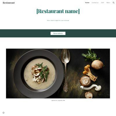 Make a Free Website through Google Sites