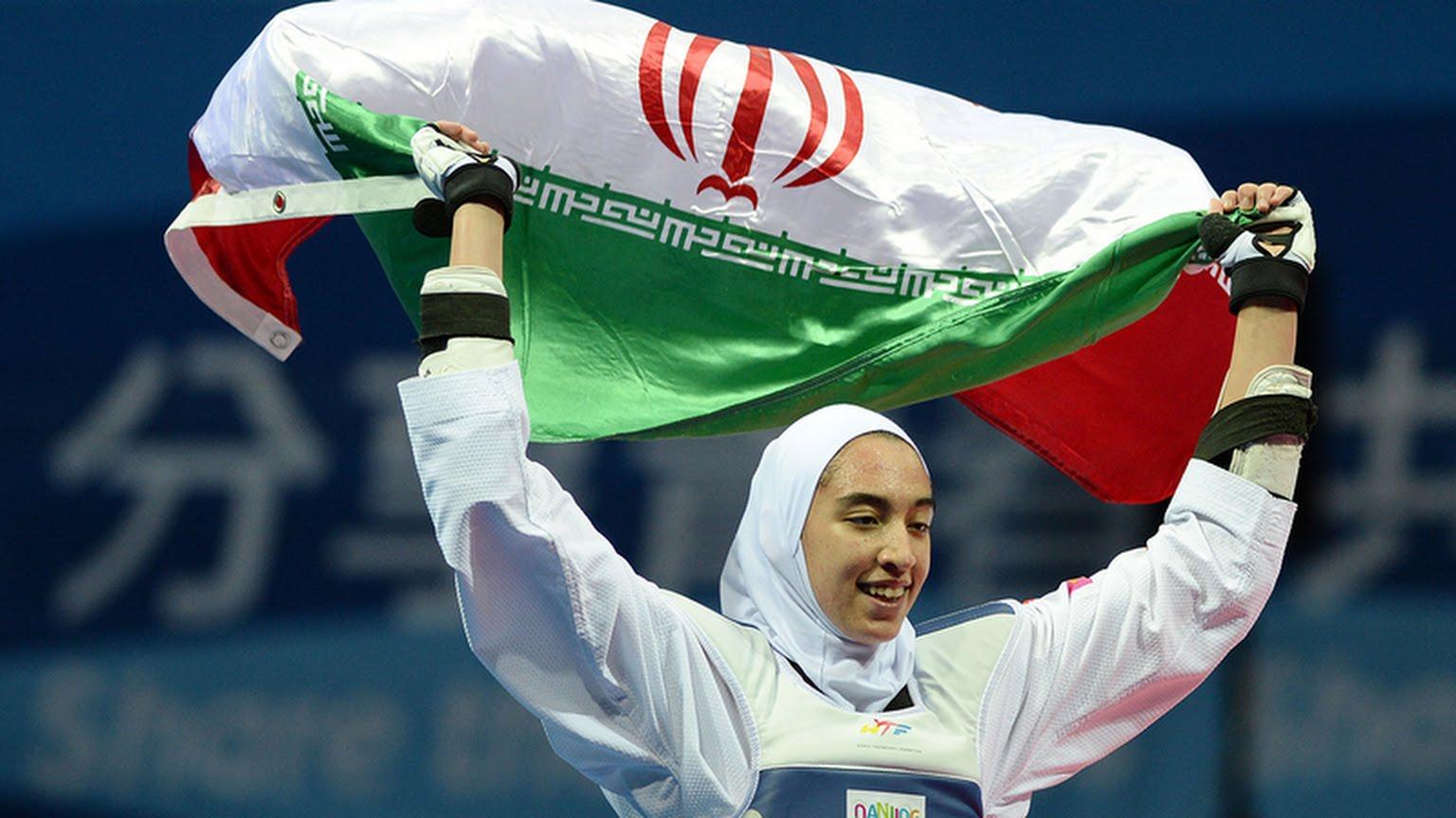 صعود کیمیا علیزاده به مرحله ی یک هشتم نهایی المپیک 2016
