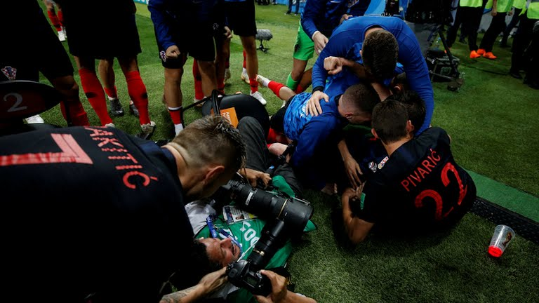 Croatia, Croatia players went topless after winning England for their first world cup finals, Latest Nigeria News, Daily Devotionals & Celebrity Gossips - Chidispalace