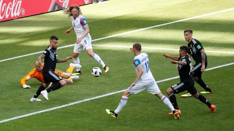Iceland Argentina match