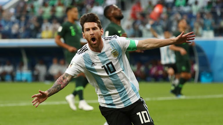 super eagles, 2018 World Cup: Nigerian Super Eagles bow out as Argentina progresses (Photos)