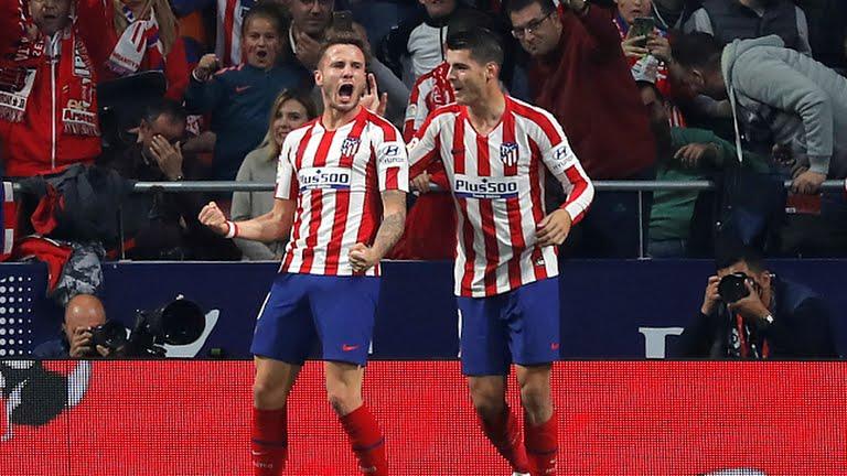 Atlético, victoria, cima