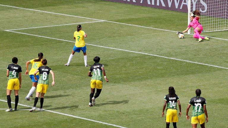 Schneider saving the penalty