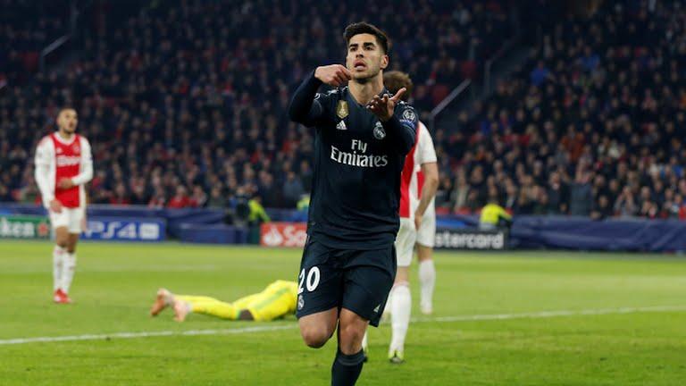 Madrid cetak gol dimenit akhir lewat Marco Asensio