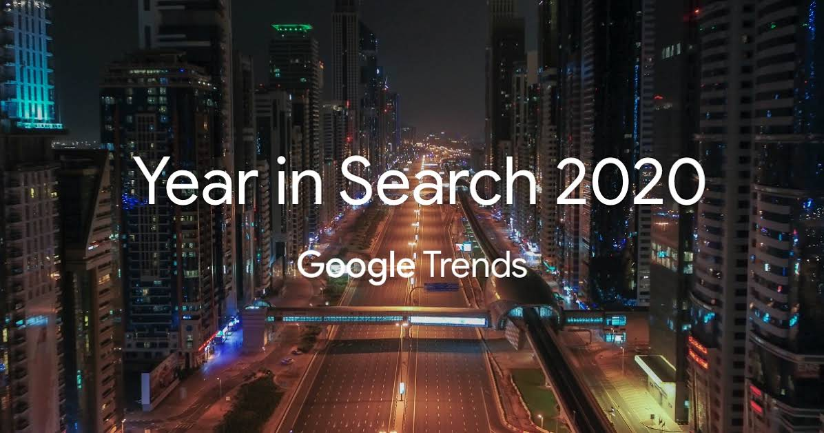 Google — Year in Search 2020